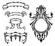 Symboles neufs Image libre de droits