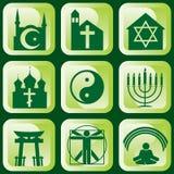 Symboles religieux Photographie stock libre de droits
