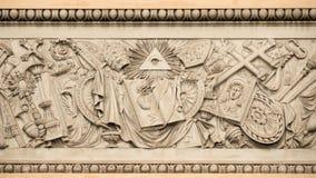 Symboles religieux chrétiens Image stock