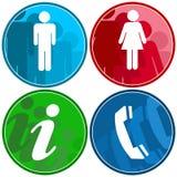 Symboles urbains illustration libre de droits