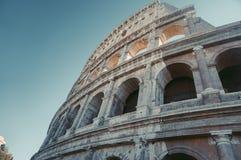Symbolet av Rome, amfiteatern av Colosseumen, royaltyfri foto