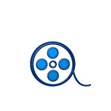 Symbolfilm Lizenzfreies Stockfoto