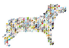 Symbolhund Lizenzfreies Stockfoto