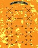 symboli/lów abstrakcjonistyczni strzałkowaci różni ustaleni okno eps10 Zdjęcia Royalty Free