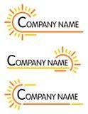 Symboli/lów korporacyjni szablony Fotografia Royalty Free