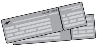 Symbolic airplane tickets