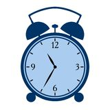 Symbolic alarm clock Royalty Free Stock Photography
