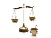 Symbolic alchemist tools Royalty Free Stock Photo