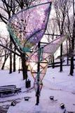 Symbolic art object in city park Stock Photography