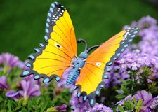 Symbolic butterfly. For powerful communication Stock Images