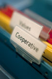 Symbolic cooperation. Business concept of achieving success through cooperation Stock Photography
