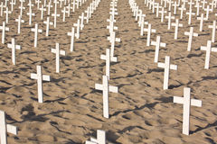 Symbolic crosses Royalty Free Stock Images