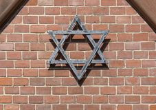 Symbolic detail of a jewish graveyard Royalty Free Stock Images
