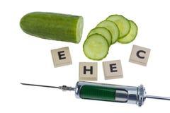 Symbolic for EHEC disease Royalty Free Stock Image