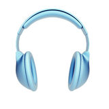 Symbolic headphones Royalty Free Stock Photo