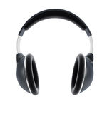 Symbolic headphones Royalty Free Stock Photography