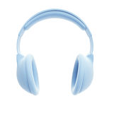 Symbolic headphones Stock Images