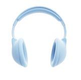 Symbolic headphones Stock Images