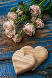 Symbolic heart  for Valentine's day Stock Images