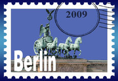 Symbolic image Berlin Stock Image