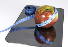 Symbolic image for weight loss Stock Photography