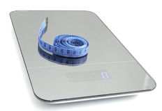 Symbolic image for weight loss Stock Images