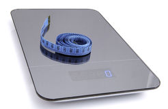 Symbolic image for weight loss Royalty Free Stock Image