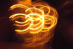 Symbolic Light No. 8 Stock Images