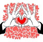 Symbolic love Stock Image