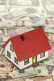 Symbolic picture for financing a real estate Stock Photo