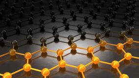 A symbolic representation of the fast charging of a graphene battery