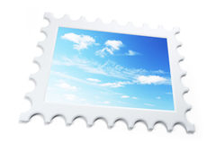 Symbolic stamp Stock Photography