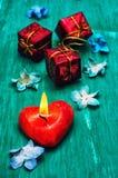 Symbolic Valentines day Stock Photography