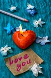 Symbolic Valentines day Stock Images