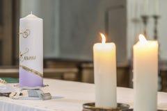 Symbolic wedding details Royalty Free Stock Photography