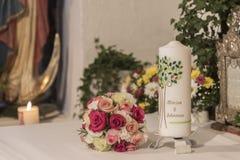 Symbolic wedding details Royalty Free Stock Image