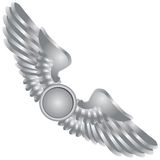 Symbolic wings Royalty Free Stock Images