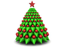 Symbolic xmas tree Royalty Free Stock Photo