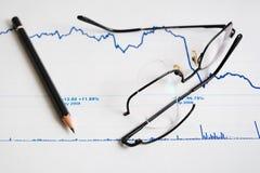 Symbolics de la crisis financiera. Fotos de archivo