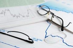 Symbolics de la crisis financiera. Foto de archivo libre de regalías