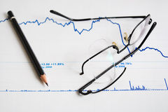 Symbolics of financial crisis. Stock Photos