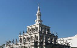 Symboliczny budynek Sukhothai Thammathirat otwarty uniwersytet zdjęcia royalty free