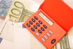 Symbolisch apparaat voor online bankwezen Stock Afbeelding