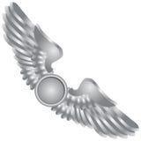 Symbolische Flügel lizenzfreie abbildung