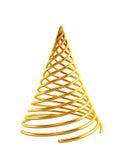 symbolischer 3d Weihnachtsbaum Lizenzfreies Stockfoto