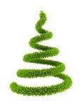 symbolischer Baum des neuen Jahres 3d Lizenzfreie Stockfotos