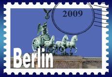 Symbolisches Bild Berlin Stockbild