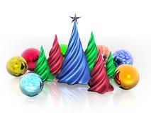 Symbolisches Weihnachten Lizenzfreie Stockfotos