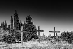 symboliseer Christelijke godsdienst stock fotografie
