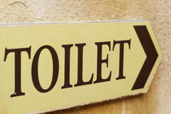 Symboliseer toiletten royalty-vrije stock afbeelding